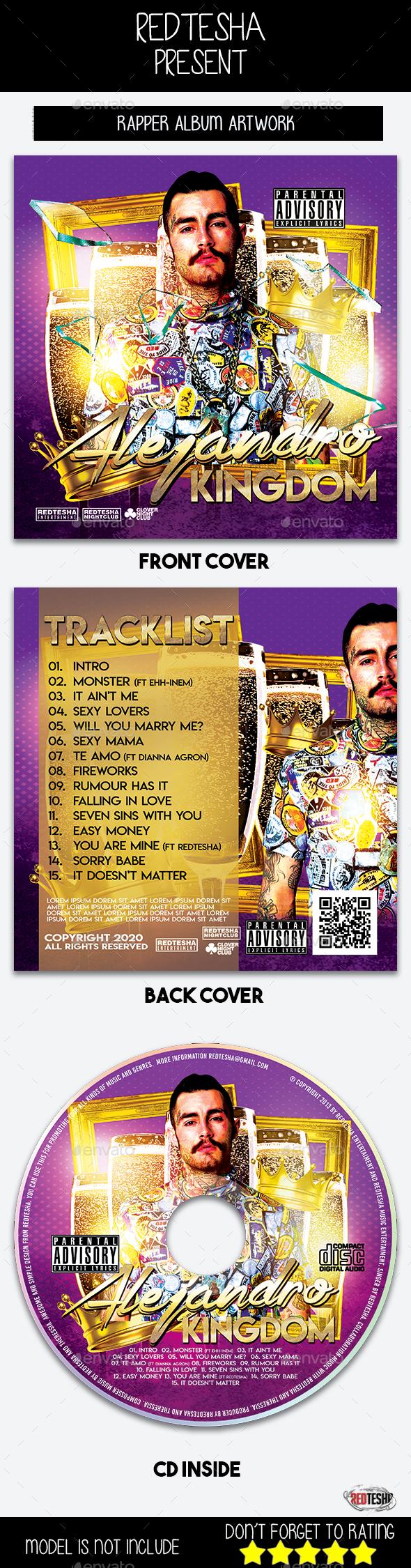 GraphicRiver Rapper Album Artwork 20633516