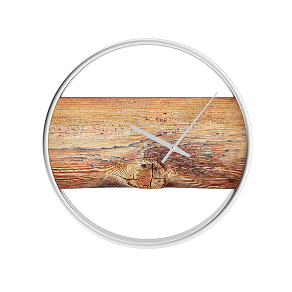 3DOcean Wall Clock with Rough Wood 20633553