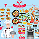 Food Infographics Element Illustration - GraphicRiver Item for Sale