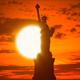 Statue Of Liberty At Sunrise - VideoHive Item for Sale