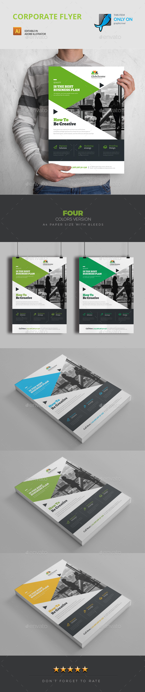 GraphicRiver Flyer 20633760