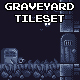 Graveyard Pixel Art Tileset - GraphicRiver Item for Sale