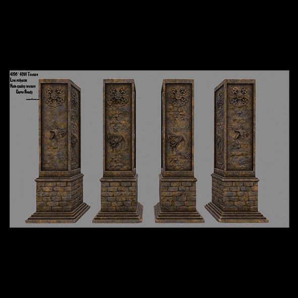 pillar 4 - 3DOcean Item for Sale