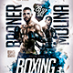 Boxing Event Flyer Template - GraphicRiver Item for Sale