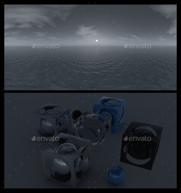 Ocean Grey 4 - HDRI - 3DOcean Item for Sale