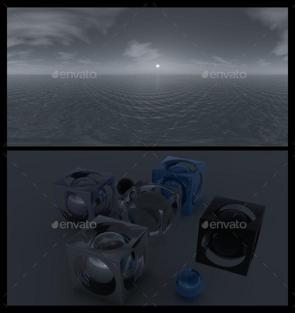 3DOcean Ocean Grey 4 HDRI 20634323