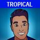 Tropical Pop Beach House
