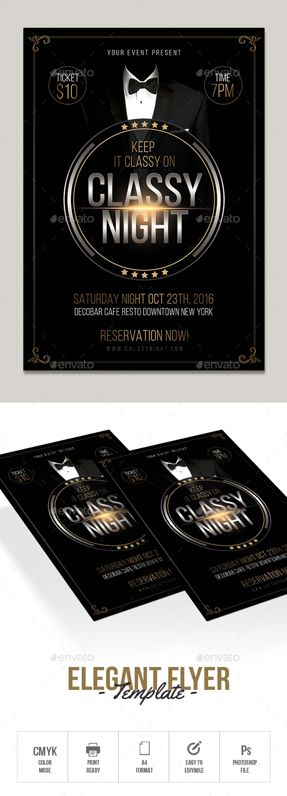 GraphicRiver Elegant Flyer 20634560