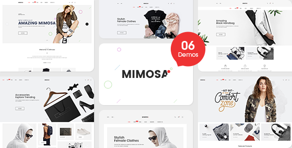 Image of Mimosa - Responsive Fashion Opencart 3 Theme