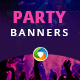 Party Web Banners