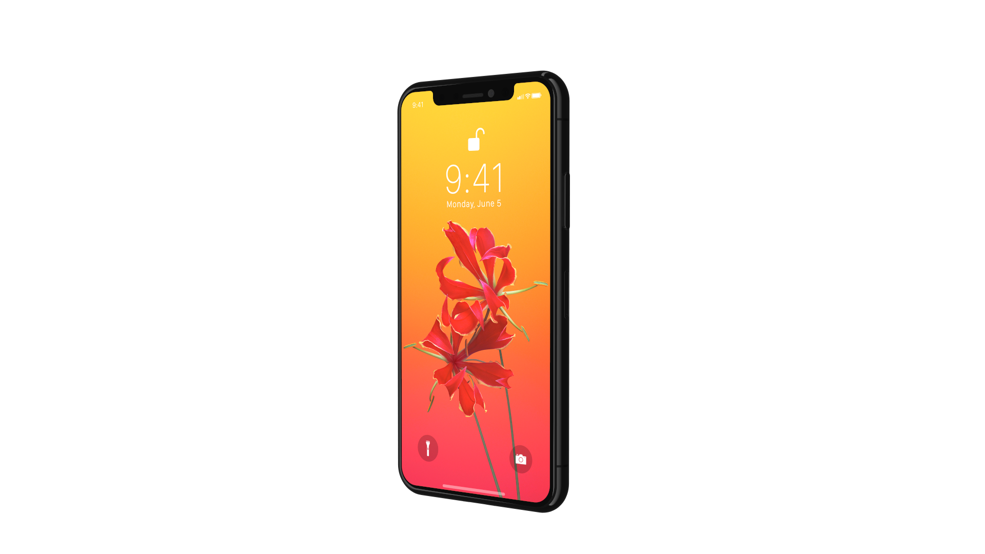 X Renders IPhone Flower Right