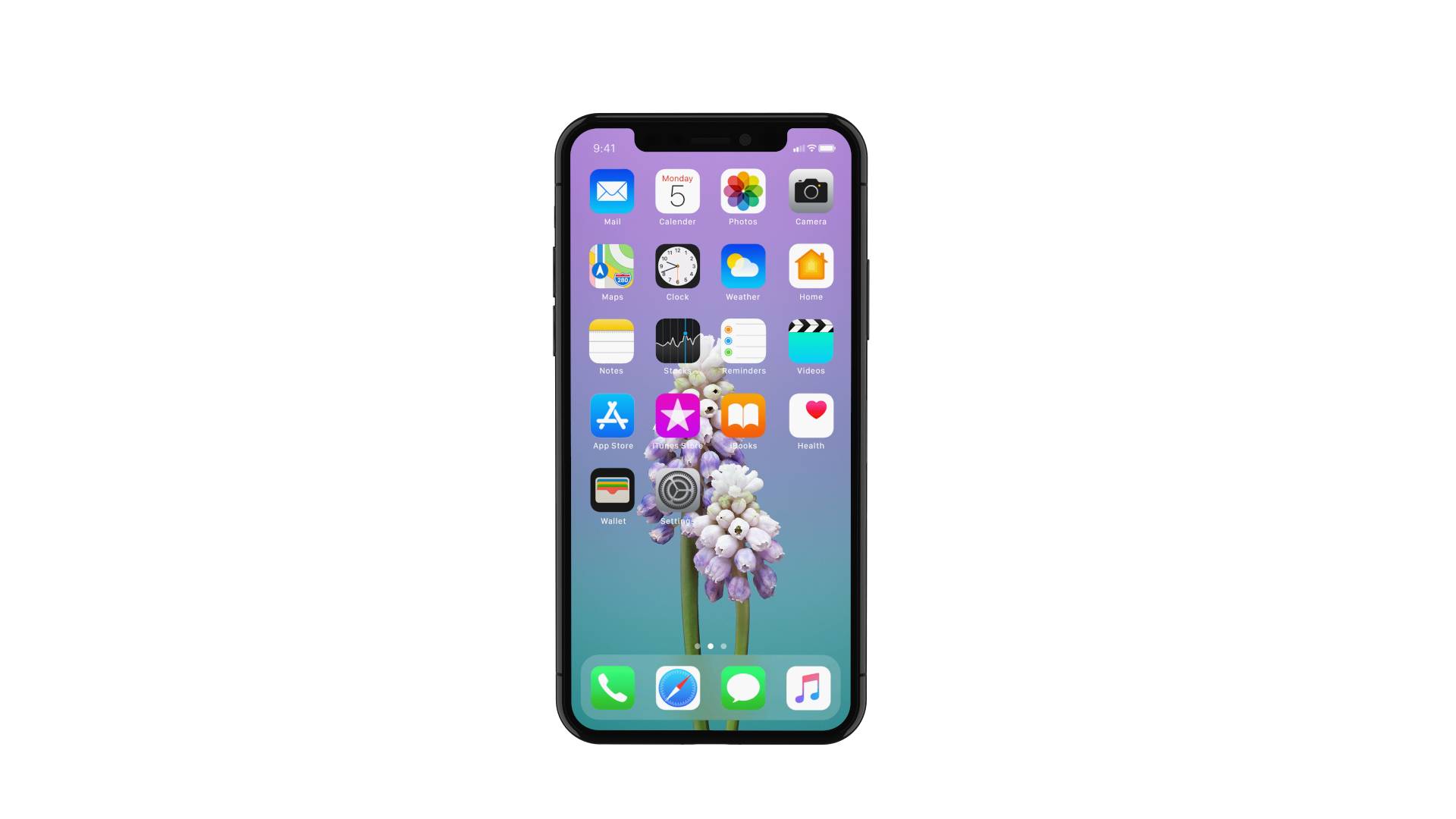 Element 3d apple iphone x by mr matt 3docean for 3d home screen wallpaper for iphone
