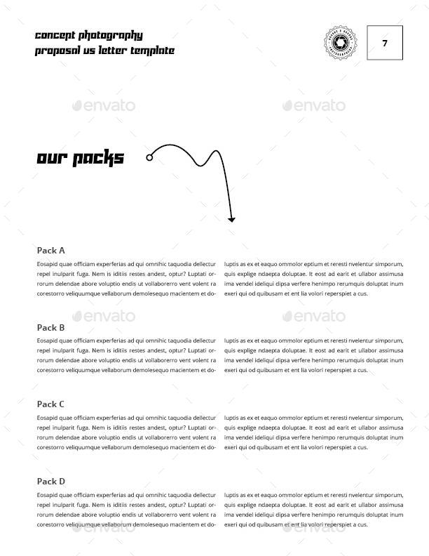 Concept Photography Proposal Us Letter Template By Keboto Graphicriver
