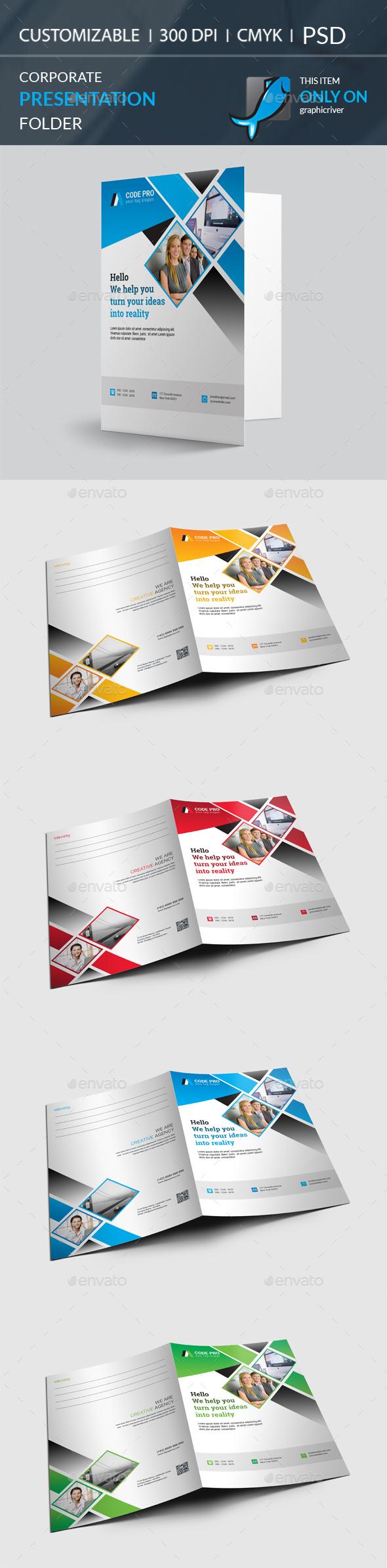 GraphicRiver Presentation Folder 20634731