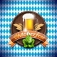 Oktoberfest Vector Illustration with Fresh Lager
