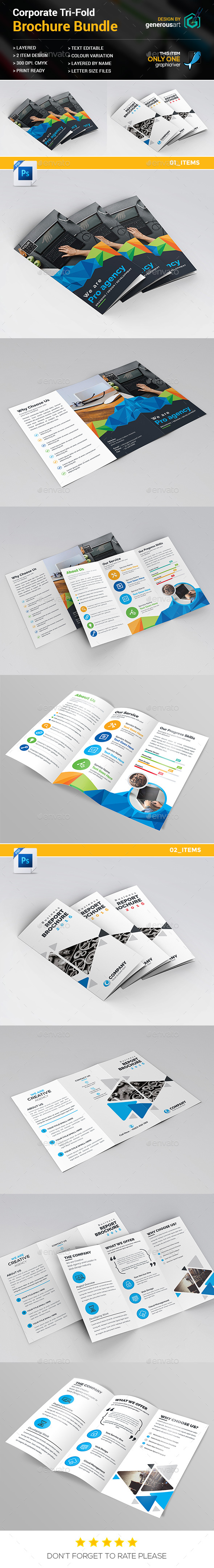 GraphicRiver Tri-fold Bundle 2 in 1 20634871