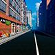 Urban Street In Fog - VideoHive Item for Sale