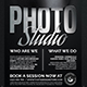 Photo Studio Flyer Template V2 - GraphicRiver Item for Sale