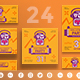 Halloween Party Social Media Pack - GraphicRiver Item for Sale