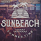 Sun Beach Fest Flyer Template