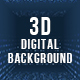 3D Digital Background - VideoHive Item for Sale