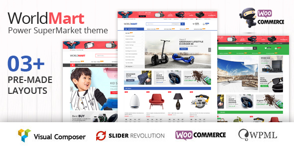 ThemeForest Worldmart WooCommerce WordPress Theme 20635936