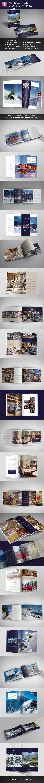Ski Resort Hotel Brochure Portrait & Landscape Versions - Catalogs Brochures