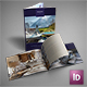 Ski Resort Hotel Brochure Portrait & Landscape Versions