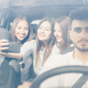 Selfie with a smartphone in the car - PhotoDune Item for Sale
