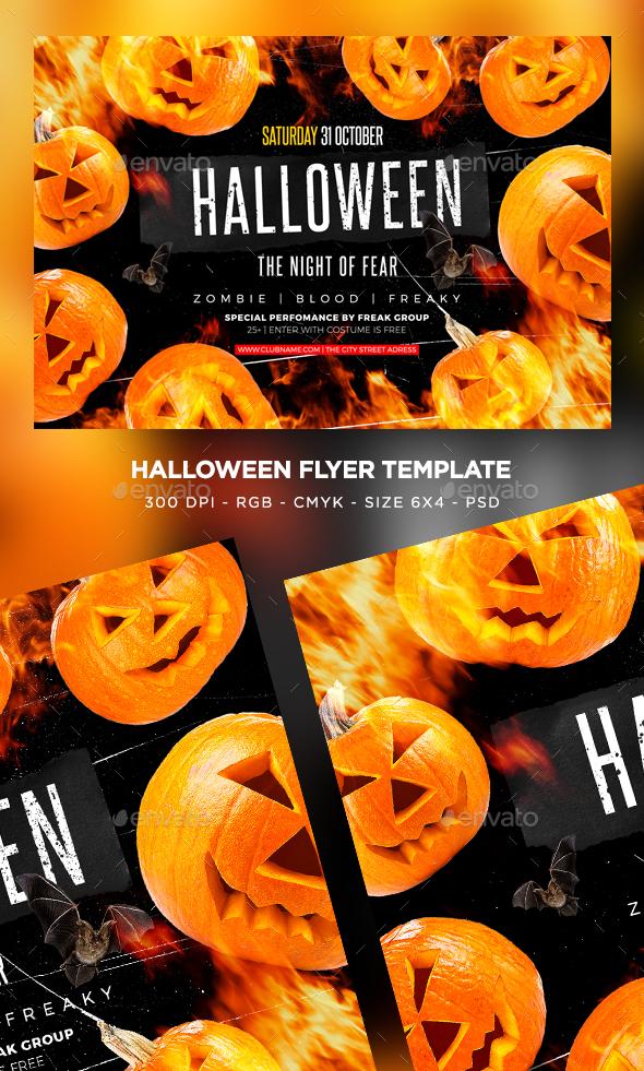 GraphicRiver Halloween Flyer 20636172