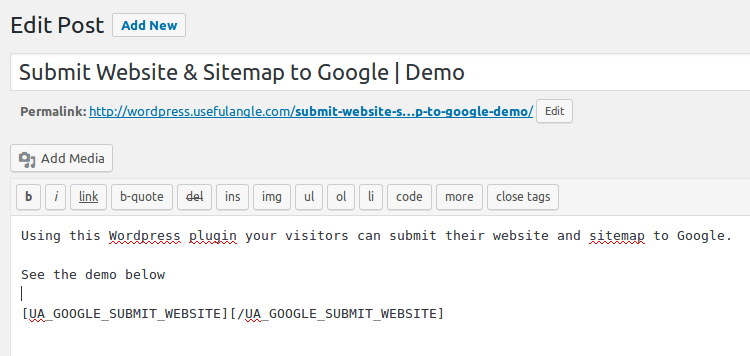 Submit Website & Sitemap to Google   SEO Tool   Wordpress Plugin