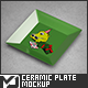 Square Ceramic Plate Mock-Up - GraphicRiver Item for Sale