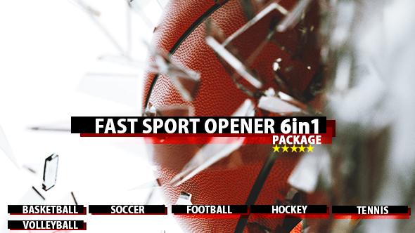 Fast Sport Ball Opener 6in1