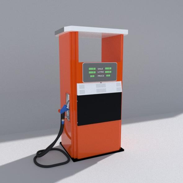 Fuel Bowser - 3DOcean Item for Sale