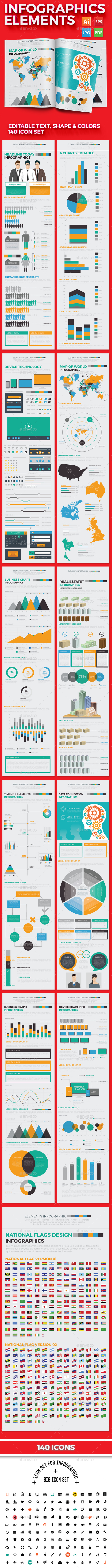 GraphicRiver Infographics Elements 20636430