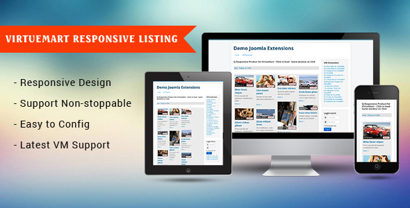 Responsive Product for VirtueMart Module - CodeCanyon Item for Sale