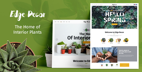 Edge Decor | Gardening & Landscaping Theme - Retail WordPress
