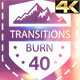 Burn Transitions 4K - VideoHive Item for Sale