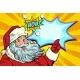 Santa Claus New Year and Christmas