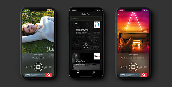 Radio Play for iOS and tvOS (compatible iOS 11 & tvOS 11) - CodeCanyon Item for Sale