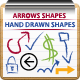 Arrows and Hand Drawn Shapes and Custom Symbols - GraphicRiver Item for Sale