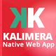 Kalimera Native Web Mobile App Travel & Share App like Instagram