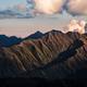 Detail of dramatic mountain range at sunset, Svaneti, Georgia - PhotoDune Item for Sale