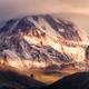 Detail landscape view of Mt Kazbeg at sunrise, Georgia - PhotoDune Item for Sale