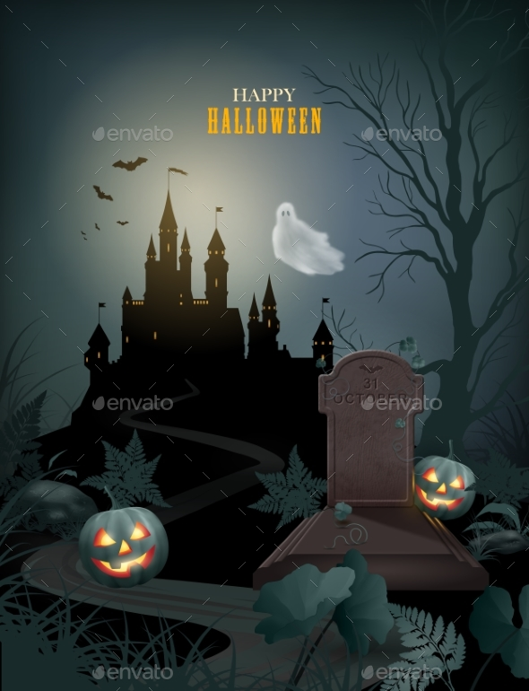 Halloween Party Invitation - Miscellaneous Illustrations