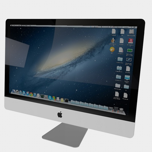 Apple iMac Screen - 3DOcean Item for Sale