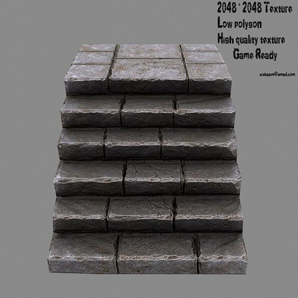 Stairway - 3DOcean Item for Sale