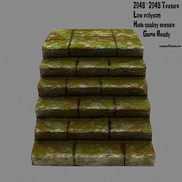 Stairway 1 - 3DOcean Item for Sale