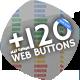 120+ Flat Design Web Buttons