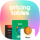 Planetary Pricing Tables